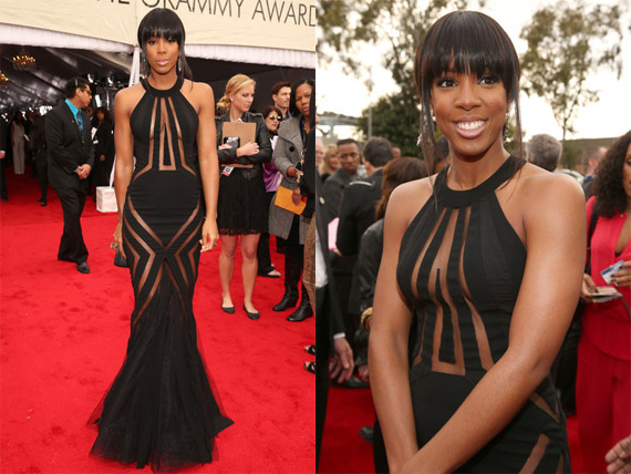 Kelly+Rowland+2013+Annual+GRAMMY+Awards