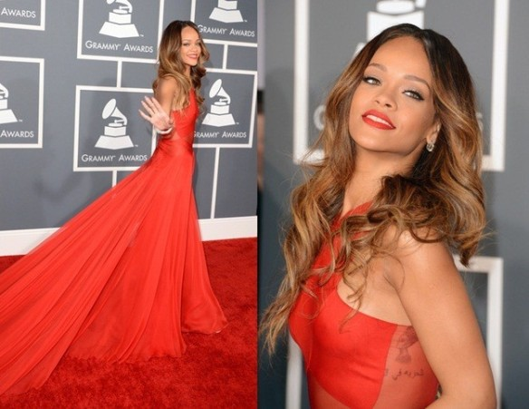 rihanna-look-grammy-2013